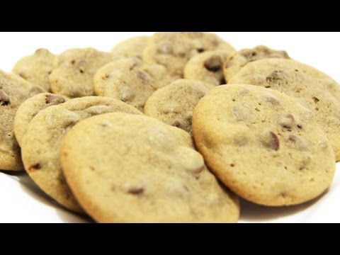 Chewy Chocolate Chip Cookies - Video Recipe