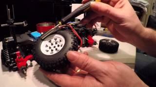 Tamiya MF01X Jimny crawler / trail runner upgrade pt4: RC4WD wheels & tyres plus soft springs