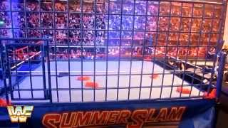 getlinkyoutube.com-WWE Authentic Scale Ring: Classic Steel Cage Review