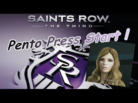 PENTO PRESS START : Test Saints Row : The Third - Éditeur de personnage