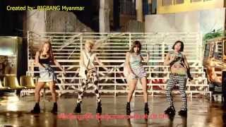 getlinkyoutube.com-2NE1 - Falling in Love [Burmese Sub]