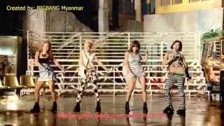 2NE1 - Falling in Love [Burmese Sub]