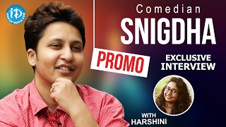 Comedian Snigdha Exclusive Interview - Promo || Talking Movies With iDream