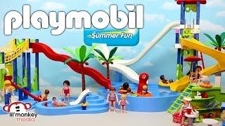 getlinkyoutube.com-Playmobil Summer Fun Waterpark Collection!