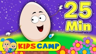 getlinkyoutube.com-Humpty Dumpty Sat On A Wall & Lots More Popular Nursery Rhymes Compilation from Kidscamp