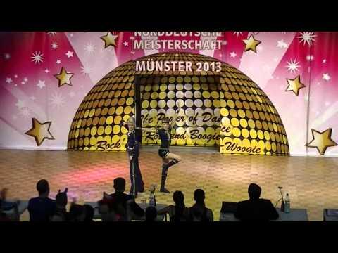 Johanna Wolf & Niklas Bahr - Norddeutsche Meisterschaft 2013