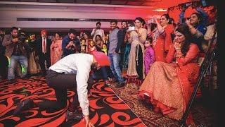 Best Punjabi Groom Dance Performance for the Bride 2016