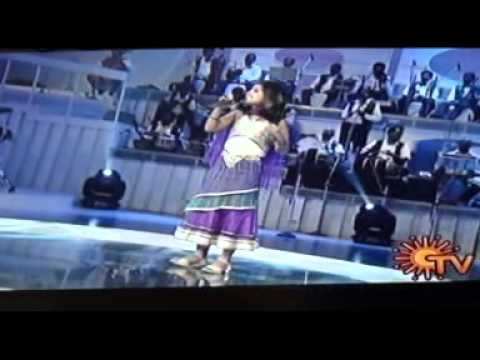 Sun singer - Anushya's performance on 17.02.03