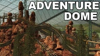 getlinkyoutube.com-RCT3 Adventure Dome - World's largest indoor Theme park HD