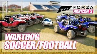 Forza Horizon 3 - Soccer/Football! (Mini Games & Random Fun)