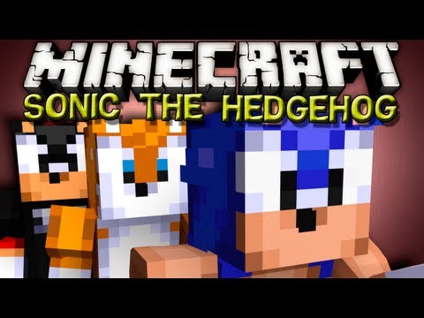 Minecraft Mods - SONIC THE HEDGEHOG MOD!!