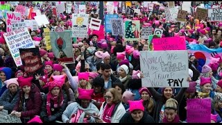 getlinkyoutube.com-Women's March on Washington 2017 (FULL EVENT) | ABC News