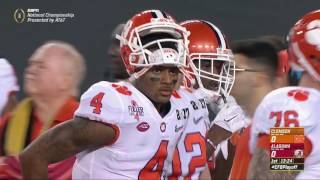getlinkyoutube.com-2016 CFP National Championship - #2 Clemson vs. #1 Alabama (HD)