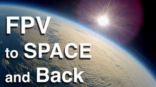 Space Glider - FPV to Space and Back!