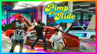 getlinkyoutube.com-GTA ONLINE PIMP MY RIDE FREEMODE SPECIAL - GTA 5 BEST CARS TO CUSTOMIZE, RARE/SECRET VEHICLES & MORE