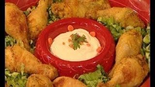 getlinkyoutube.com-أفخاذ الدجاج المقلية - مطبخ منال العالم