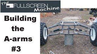 getlinkyoutube.com-█ GO KART BUILDING |  A-arms #3 ( The Fullscreen Machine )