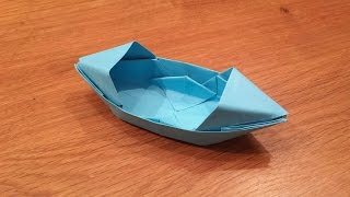 getlinkyoutube.com-How To Make a Paper Boat That Floats - Origami