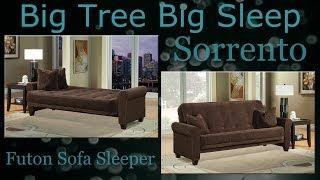 Sorrento Futon Sofa Sleeper from Big Tree Big Sleep -  Assembly Instructions