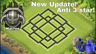 getlinkyoutube.com-Clash Of Clans - EPIC TH8 New Trophy pushing Base Layout Speed Build! 💯NEW♦