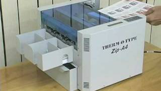 getlinkyoutube.com-Zip-A4 Cutter/Slitter - THERM-O-TYPE Corp.