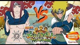 Naruto Ultimate Ninja Storm Revolution: Kushina vs Minato MOVESET Discussion