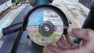 getlinkyoutube.com-37.Как идеально ровно раскраивать болгаркой листовой металл.Часть2
