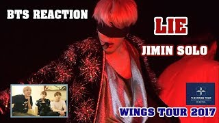 [ENG/VIET SUB] BTS Reaction LIE Jimin solo - WINGS TOUR 2017