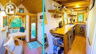 Charming Tiny House Built by 26 year old woman