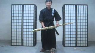getlinkyoutube.com-Part 2 Chosun Ninjato (Homestudy Indoor sword techniques) really? video #277