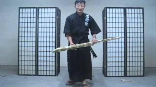 Part 2 Chosun Ninjato (Homestudy Indoor sword techniques) really? video #277