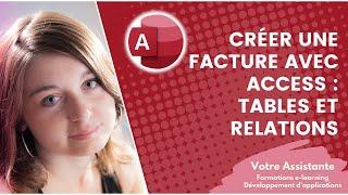 getlinkyoutube.com-Créer une facture avec Access - Création des tables et des relations (1/3)