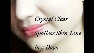 getlinkyoutube.com-How to Get Crystal Clear Spotless Skin Tone