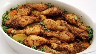 getlinkyoutube.com-صينية الدجاج بالتمر الهندي والخضروات-مطبخ منال العالم