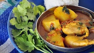 getlinkyoutube.com-Murgir Jhol | Chicken Curry | Bengali Home Cooking