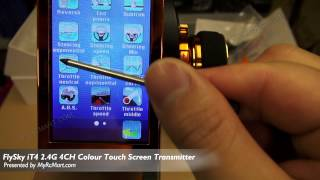 getlinkyoutube.com-FlySky iT4 2.4G 4CH Colour Touch Screen Transmitter Unoboxing and Manual Review - MyRcMart.com