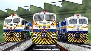 getlinkyoutube.com-Commissioning the New LOCOMOTIVE | 2000th EMD | KJM Diesel Shed | Indian Railways