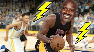 What If Shaquille ONeal Had 99 Speed? NBA 2K17 Challenge