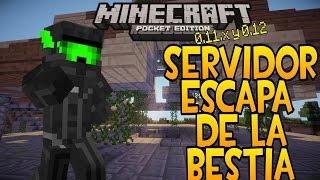getlinkyoutube.com-SERVER ESCAPA DE LA BESTIA-REVIEW | MINECRAFT PE 0.11.1