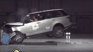 getlinkyoutube.com-► 2013 Range Rover CRASH TEST