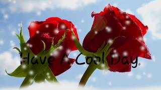 💙 G😄😄d Morning With Flower 💙/ Whatsapp status video