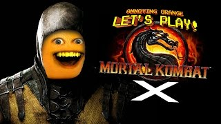 getlinkyoutube.com-Annoying Orange Let's Play Mortal Kombat X for iOS!