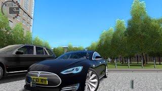 getlinkyoutube.com-City Car Driving 1.4.1 Tesla Model S [G27]