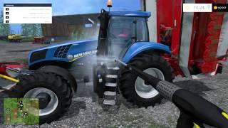 getlinkyoutube.com-Zagrajmy w Farming Simulator 2015 na (single)multiplayer - Między nagraniami 2/2 (timelapse)