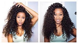 getlinkyoutube.com-Defining your Curly Hair Extensions