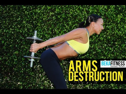 Arms Destruction Workout