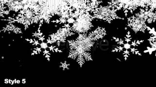 getlinkyoutube.com-After Effects project - HD Snow Flakes Falling Transitions - Series of 7