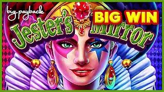 Jester's Mirror Slot - BIG WIN - Live Play Bonus!