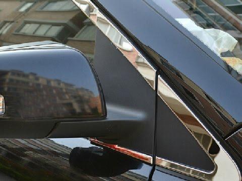 Хромированные накладки на двери BYD S6
