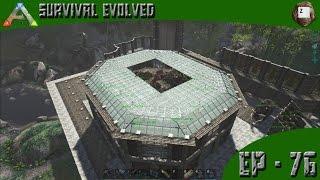 getlinkyoutube.com-ARK: Survival Evolved - Quetzal Egg Farm Roof - Series Z - EP-76
